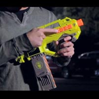 Nerf N-Strike Rayven Blaster - Inside Blast Video
