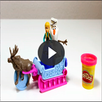 Play-Doh Frozen Anna : B1860