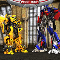 Transformers Dark of the Moon MechTech Weapons Challenge Game