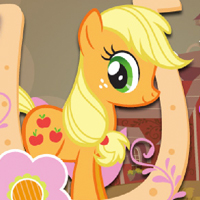 MY LITTLE PONY - Joue avec Applejack