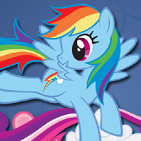 MY LITTLE PONY - Joue avec Rainbow Dash