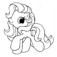 Classic Game: Meet the Ponies Coloring Book