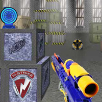 NERF N-STRIKE Agent Training Game