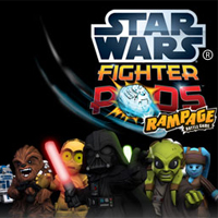 Star Wars Fighter Pods Rampage Battle Game