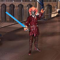 Star Wars: Revenge of the Sith Scenebot Game
