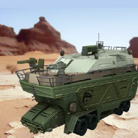 G.I. JOE - The Rise of Cobra: PIT Mobile Headquarters - Interactive Demo