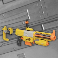NERF N-Strike Recon Game - Interactive Demo