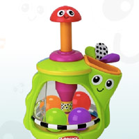 PLAYSKOOL - Explore 'N Grow Tumble 'N Twirl Top Playset – Interaktiv demo