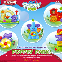PLAYSKOOL Poppin' Park Demo