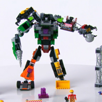 KRE-O Transformers Construction Devastator (36951) Product Demo