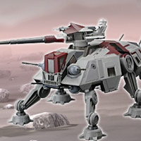 STAR WARS - The Clone Wars AT-TE Playset - Interactive Demo