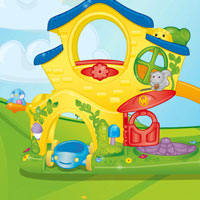 PLAYSKOOL WEEBLES Turn 'N Tumble Home Demo