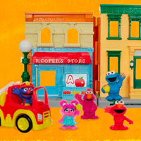 PLAYSKOOL Sesame Street Playset Demo