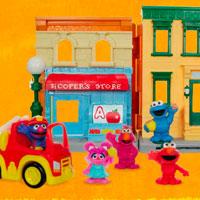 PLAYSKOOL Sesame Street Playset Demo