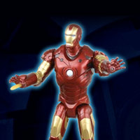 IRON MAN - Repulsor-Power Iron Man - Interactive Demo