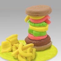 PLAY-DOH - Burger Builder Playset - Interactive Demo