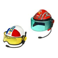 PLAYSKOOL - Helmet Heroes Race Car Driver and Police Officer - Interactive Demo