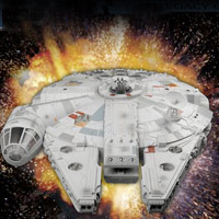 STAR WARS - Millennium Falcon Playset - Interactive Demo