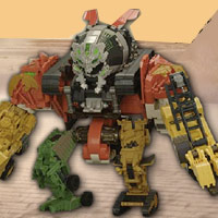 TRANSFORMERS - Constructicon Devastator - Interactive Demo