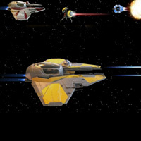 Jedi Starfighter Rescue Game