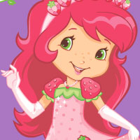 STRAWBERRY SHORTCAKE Berry Fashionable Dress Up Game
