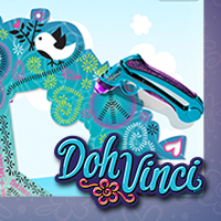 Play Doh Doh Vinci Estilizador Virtual