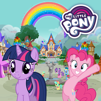 My Little Pony Regenbogen Roadtrip Spiel