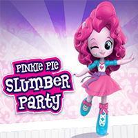 Festa do pijama da Pinkie Pie