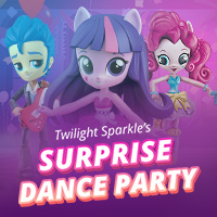 Twilight Sparkle's Surprise Dance Party