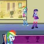 Equestria Girls: Canterlot High School Dash