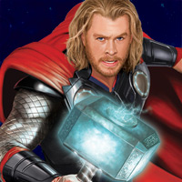 Thor - Lightning Hammer Strike - Game