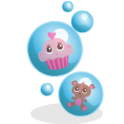 BABY ALIVE Matching Bubbles Game