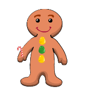 CANDY LAND  Decorate a Gingerbread Boy