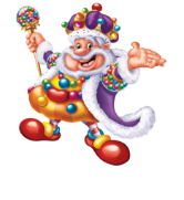 CANDY LAND King Kandy's Becandied Game