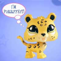 LITTLEST PET SHOP Collect and Get Special Edition Jaguar