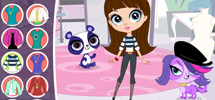 LITTLEST PET SHOP - Fashionista Fun Game