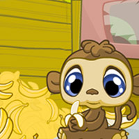 LITTLEST PET SHOP - Banana Belly Game