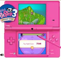 LITTLEST PET SHOP 3 Biggest Stars for Nintendo Mini-Game