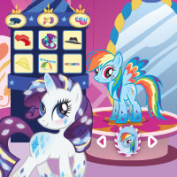 Rarity's Dress Up Game: Be a Fashion Expert, Too!