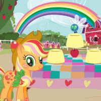 Play Giddy Up Mix-Up with Applejack and See If You Can Find the Apple!