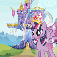 Play the My Little Pony Twilight Celebration Game with Twilight Sparkle!