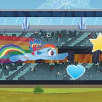Juego online gratis My Little Pony Carrera Equestria