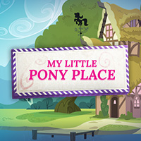 Create your own My Little Pony Place with the MLP Ponies!