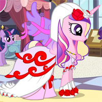 Rarity's Wedding Dress Designer Game