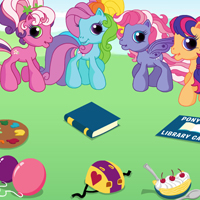 Classic Game: MY LITTLE PONY Curtains Up Matching