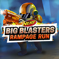 Play the Nerf Rampage Run Big Blasters Free Game Online