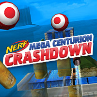 Jeu en ligne Nerf Mega Centurion Crashdown