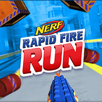 Nerf Rapid Fire Run Game for Kids
