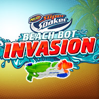 Nerf Super Soaker Invasion Online Game