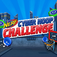 Nerf Sports Games | Nerf Cyber Hoop Challenge Basketball Game
